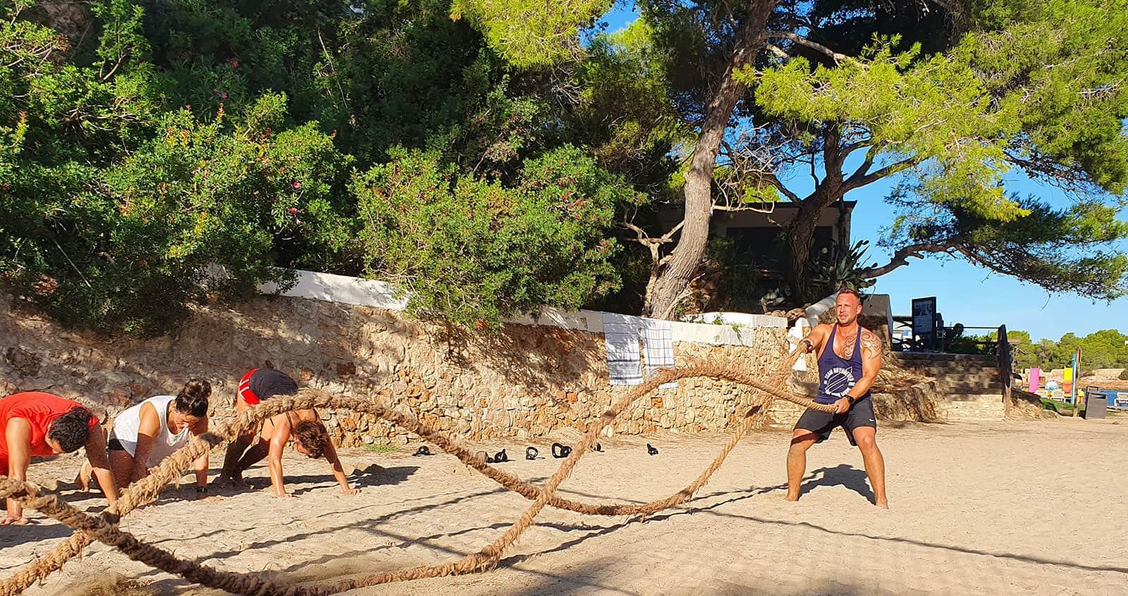 Super Fit Holidays Beach Workout